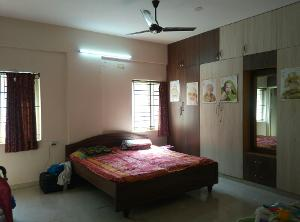 2 BHK Flat for Rent in DSR Green Vista, Whitefield | BEDROOM 2 Picture - 2