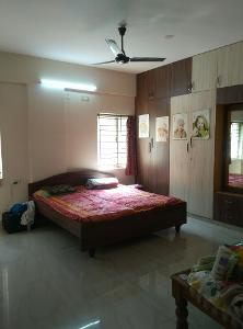 2 BHK Flat for Rent in DSR Green Vista, Whitefield | Cot, Loft, Table, Wardrobe, Wardrobe Fully Furnished