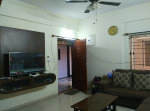 2 BHK Flat for Rent in DSR Green Vista, Whitefield | Tv Unit