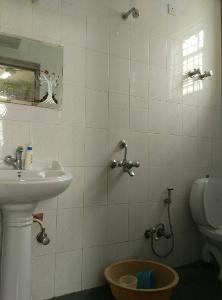 2 BHK Flat for Rent in Himagiri Meadows, Bannerghatta Road | Commode, Mirror, Wash Basin, From Attached Room
