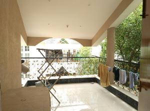 2 BHK Flat for Rent in Himagiri Meadows, Bannerghatta Road | View From Terrace