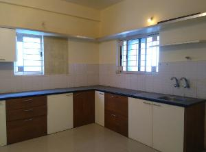 3 BHK Flat for Rent in Satya Greens Apartment, Kodigehalli | Kitchen Cabinets Fully Furnished, Provision For Water Purifier, Water Purifier