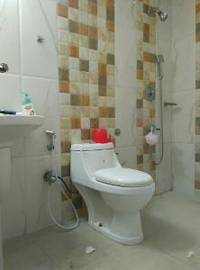 3 BHK Flat for Rent in Citilights Knightsbridge, Brookefield   Inside Bathroom