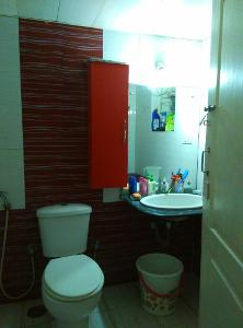 3 BHK Flat for Rent in Nester Raga, Mahadevapura | Commode, Exhaust Fan, Geyser, Mirror, Wash Basin, From Attached Room