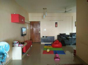 3 BHK Flat for Rent in Nester Raga, Mahadevapura | Shoe Rack, Tv Unit