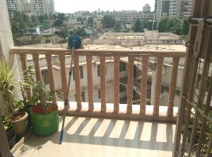 2 BHK Flat for Rent in Santara Magan Place, Hulimavu | View From Balcony