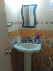 2 BHK Flat for Rent in Santara Magan Place, Hulimavu | Mirror, Wash Basin, Inside Bathroom